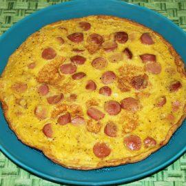 Wurstel omelet